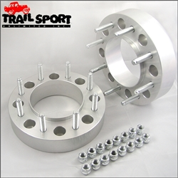 Dodge 8x6.5 Hub Centric Rear Wheel Spacers, Adapters